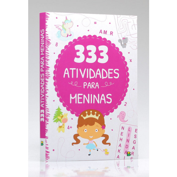 333 Atividades para Meninas   Little Pearl Books