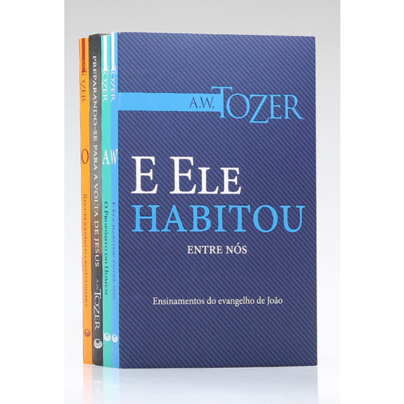 Kit 4 Livros | A. W. Tozer #1