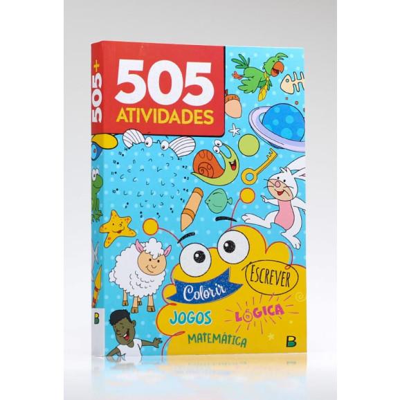 505 Atividades | Azul | Brasileitura