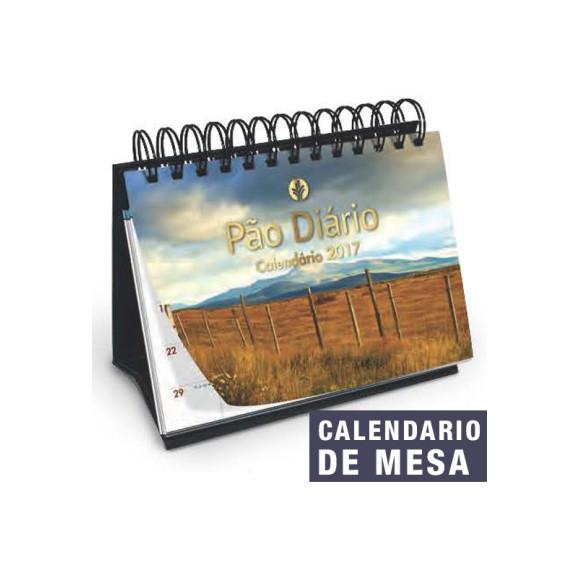 Calendário De Mesa 2017   Pão Diário