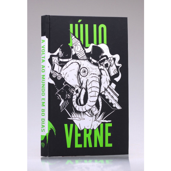 A Volta Ao Mundo em 80 Dias | Capa Dura | Júlio Verne