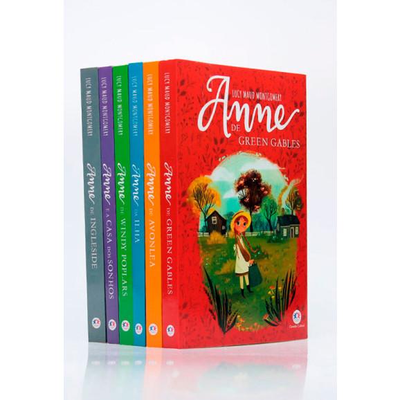 Kit 6 Livros | Anne de Green Gables | Lucy Maud Montgomery + Bloco de Anotações