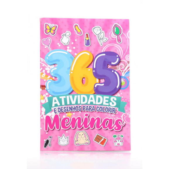 365 Atividades e Desenhos Para Colorir   Meninas