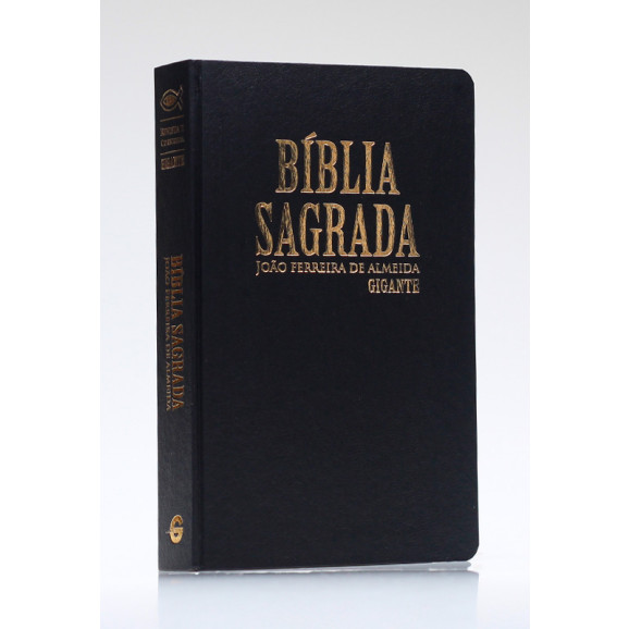 Bíblia Sagrada | RC | Letra Gigante | Com Mapas | Semi-Luxo | Preta