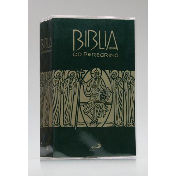 Bíblia do Peregrino   Letra Normal   Brochura   Tamanho Médio   Verde