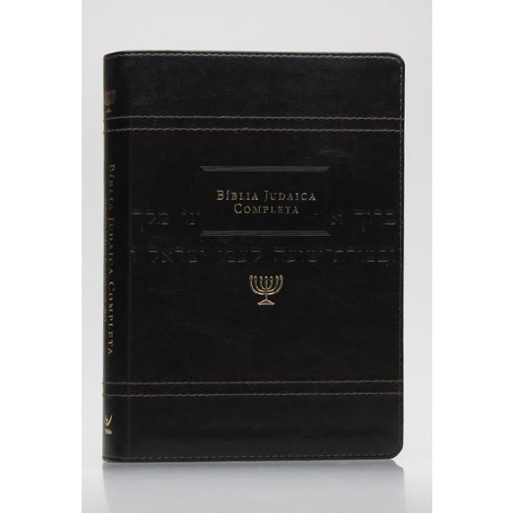 Bíblia Judaica Completa | Letra Normal | Luxo | Preta
