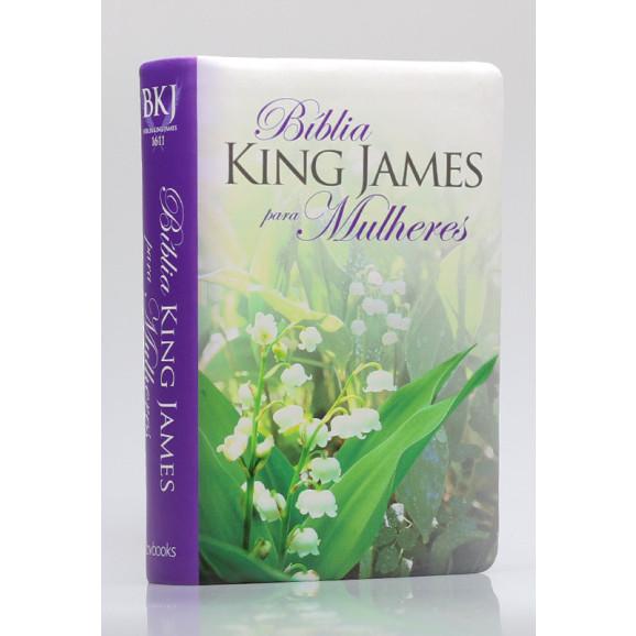 Bíblia Sagrada | King James Para Mulheres | Letra Normal | Luxo | Florida