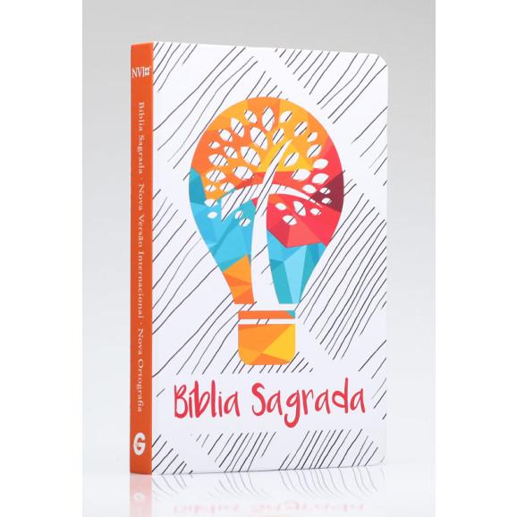 Bíblia Sagrada   NVI   Letra Normal   Semi-Luxo   Luz do Mundo