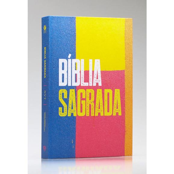 Bíblia Sagrada   NVT   Letra Média   Capa Dura   Wall Colors