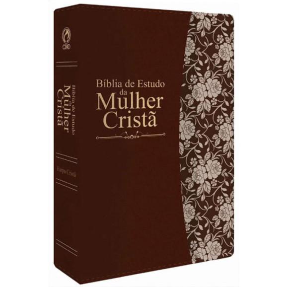Bíblia de Estudo da Mulher Cristã | RC | Marrom | Luxo