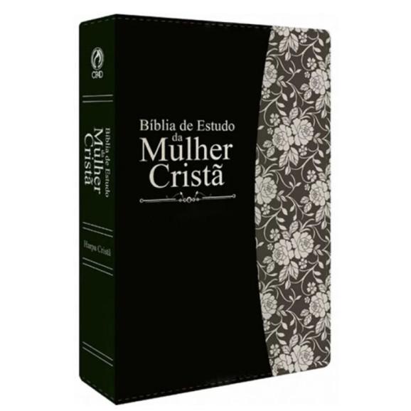 Bíblia de Estudo da Mulher Cristã   RC   Preta   Luxo