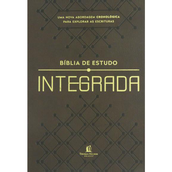 Bíblia de Estudo | NVI | Integrada | Cronológica