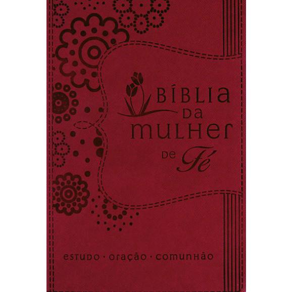 Bíblia | NVI | Mulher de Fé Sheila Walsh | Letra Normal | Capa Sintética | Púrpura