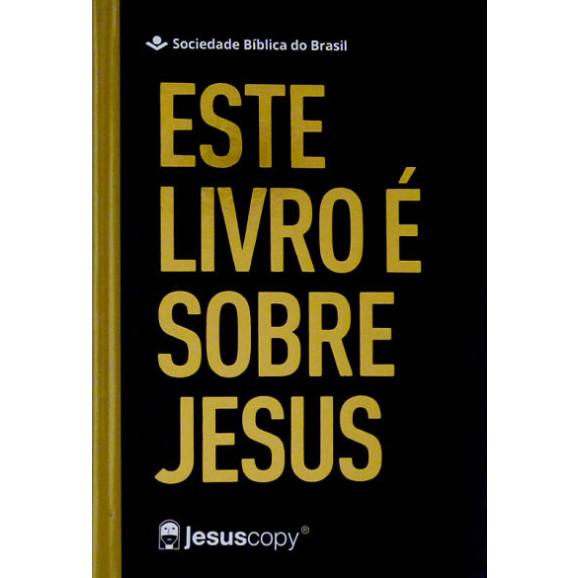 Bíblia Sagrada | Este Livro é Sobre Jesus | NAA | Letra Grande | Capa Dura