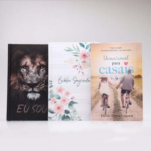 Kit Devocional + Bíblias | Para Casais