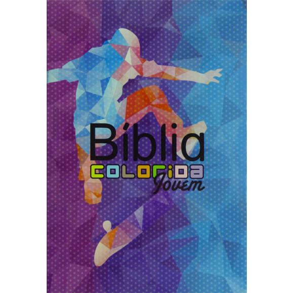Bíblia Almeida Colorida Jovem | Letra Normal |  Brochura | Esportes