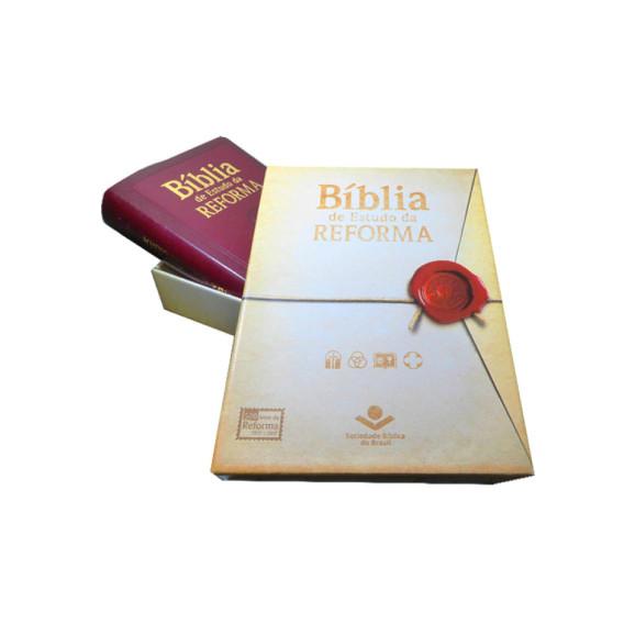 Bíblia de Estudo da Reforma | Bordo