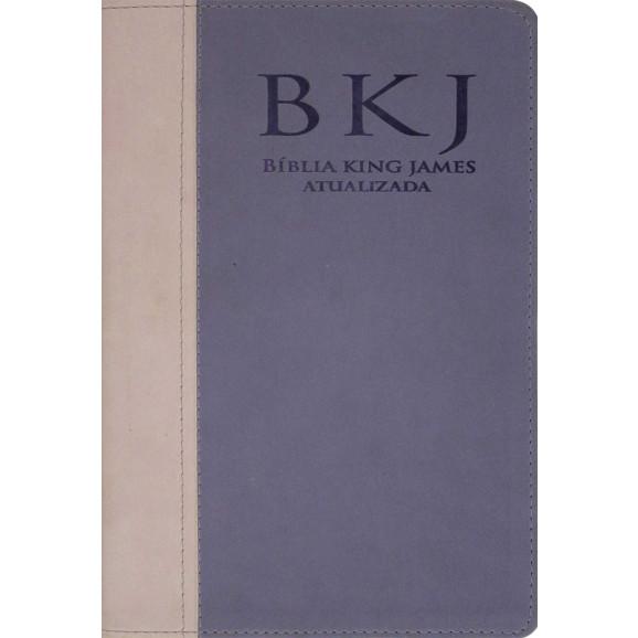 Bíblia   King James Atualizada   Letra Grande   Luxo   Rosa   Lilás