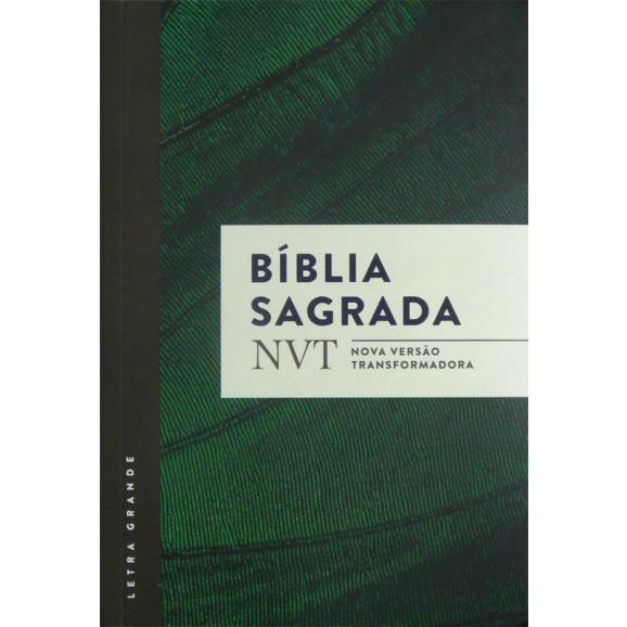 Bíblia Sagrada | NVT | Letra grande | Capa Comum | Verde