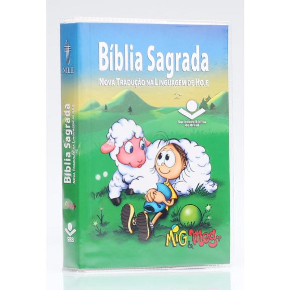 Bíblia Sagrada | NTLH | Letra Normal | Brochura | Mig e Meg