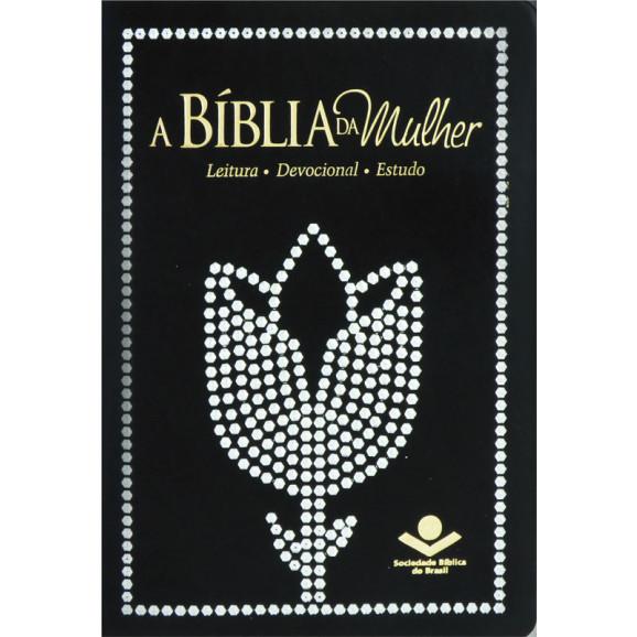 Bíblia da Mulher ARC | Preta | Devocional