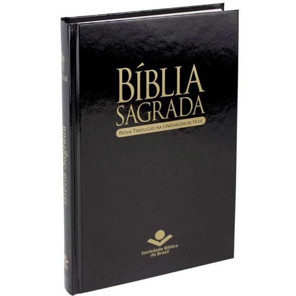 Bíblia Sagrada | NTLH | Letra Normal | Capa Dura | Preta | Evangelismo