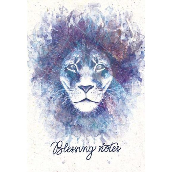 Blessing Notes | Leão | Aquarela | YHWH
