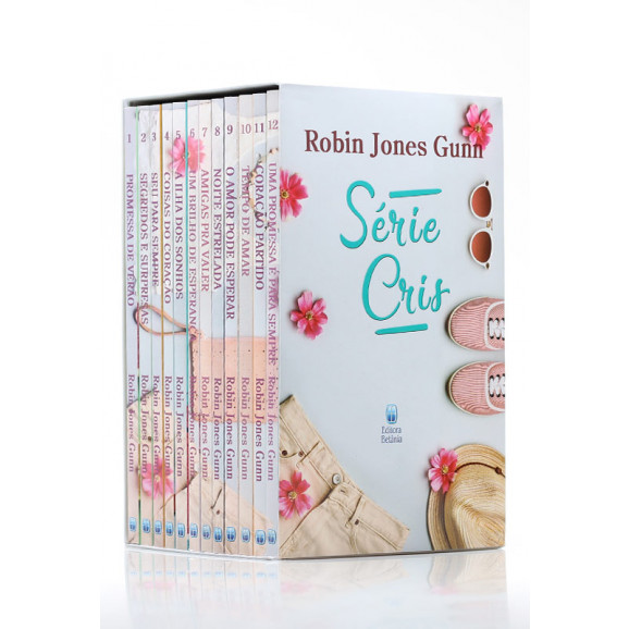 Box 12 Livros | Série Cris | Robin Jones Gunn
