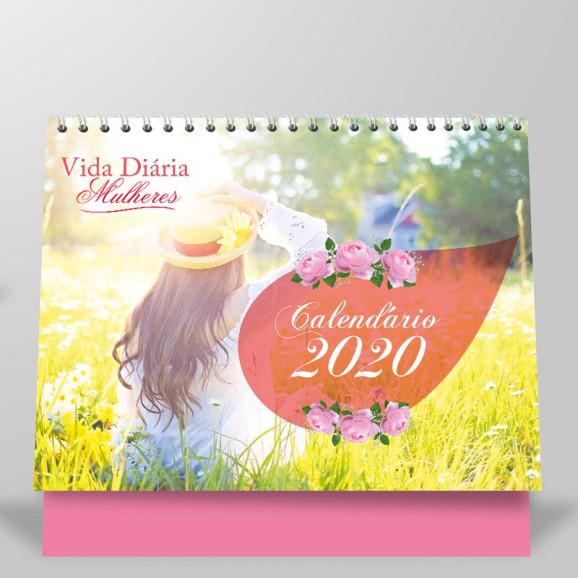 Calendário 2020 | Vida Diária | Mulheres