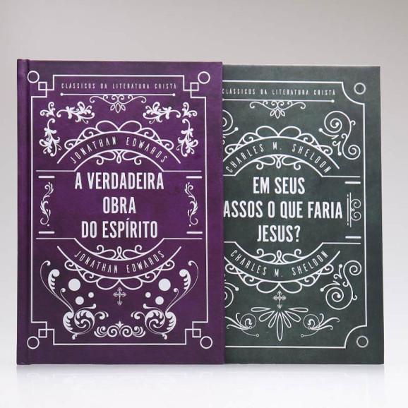 Kit 2 Livros   Clássicos da Literatura Cristã   Capa Dura
