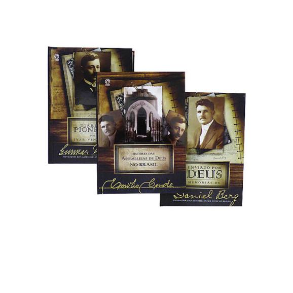Kit 3 Livros | Coleção Pioneiros Pentecostais