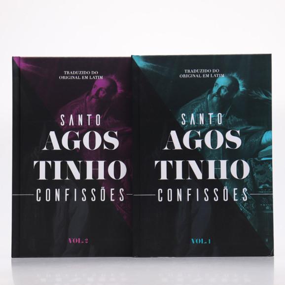 Box 2 Livros | Confissões | Capa Dura | Santo Agostinho