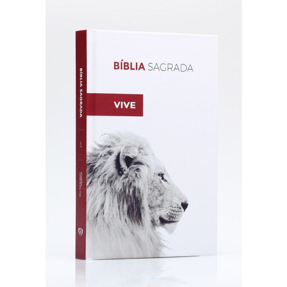 Bíblia Sagrada | ACF | Letra Normal | Capa Dura | Ele Vive