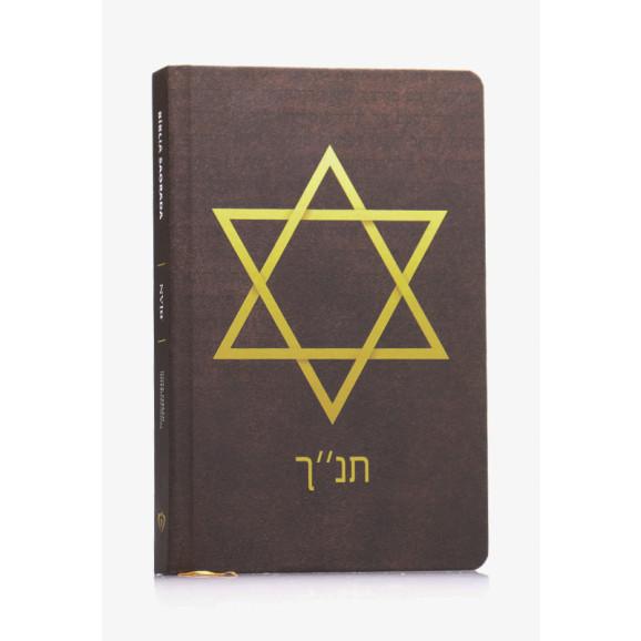 Bíblia Sagrada   NVI   Letra Normal   Capa Dura/Soft Touch   Estrela de Davi