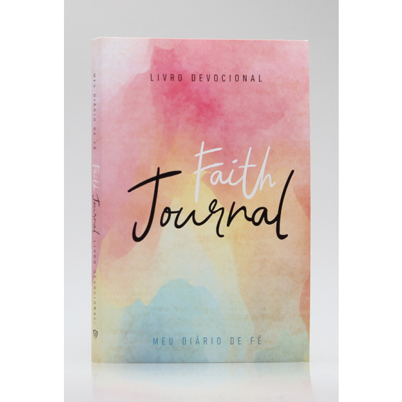 Devocional   Faith Journal   Meu Diário de Fé   Aquarela Soft