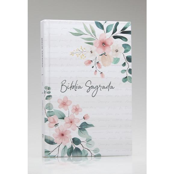 Bíblia Sagrada | ACF | Letra Média | Capa Dura | Floral