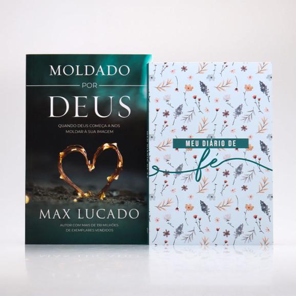 Kit 2 Livros   Moldados Diariamente Através da Fé   Flores do Campo