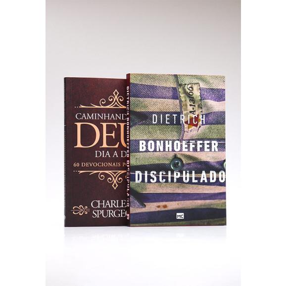 Kit Discipulado + Devocional Spurgeon | Clássica