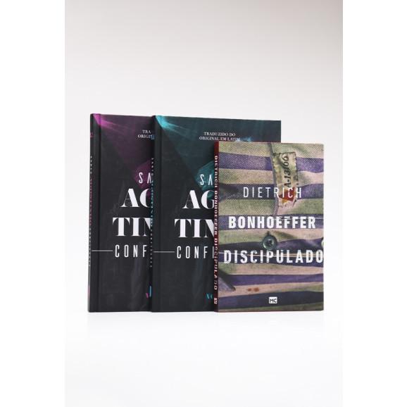 Kit Chamado ao Discipulado + Box 2 Livros Confissões | Santo Agostinho e Karl Barth