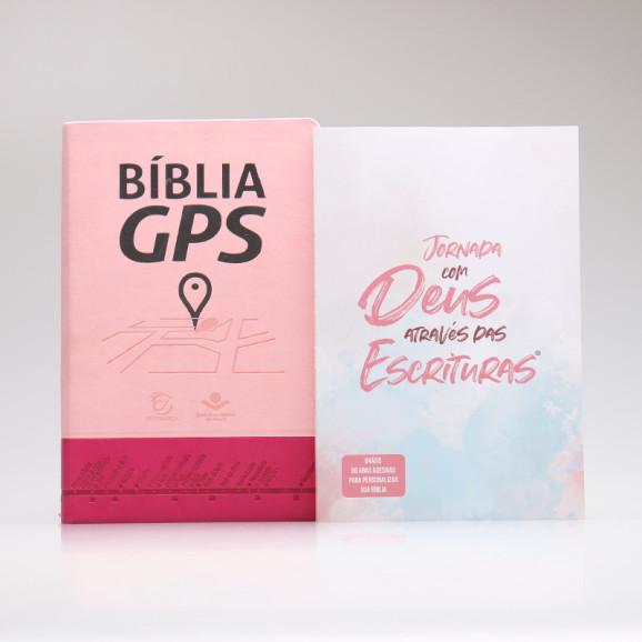 Kit Bíblia GPS + Jornada com Deus Através das Escrituras   Deus