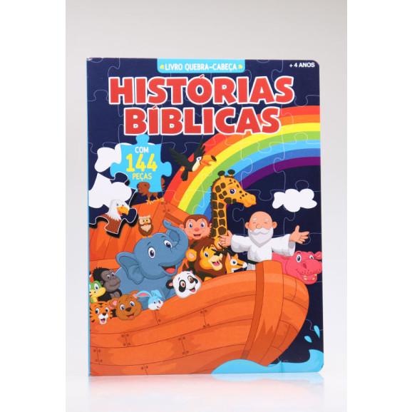 Livro Quebra-Cabeça | Histórias Bíblicas | Com 144 Peças