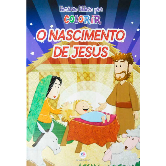 Livro O Nascimento de Jesus | Histórias Bíblicas Para Colorir