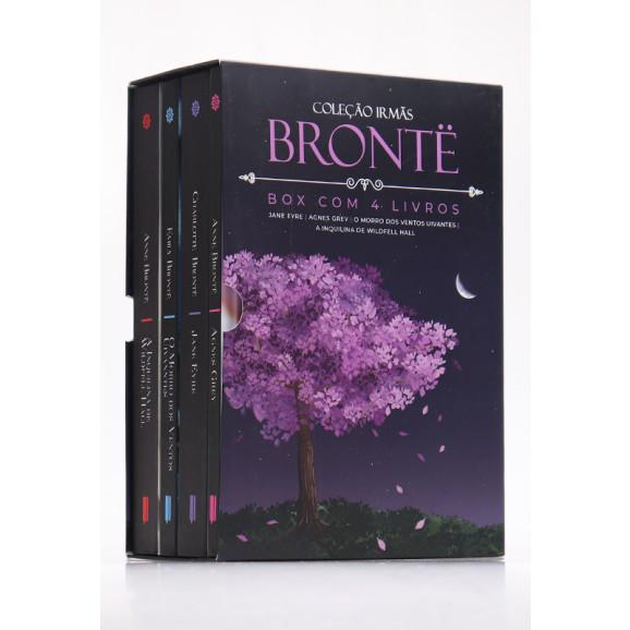 Box 4 Livros | Irmãs Brontë | Capa Dura | Edição de Colecionador | 1.624 páginas