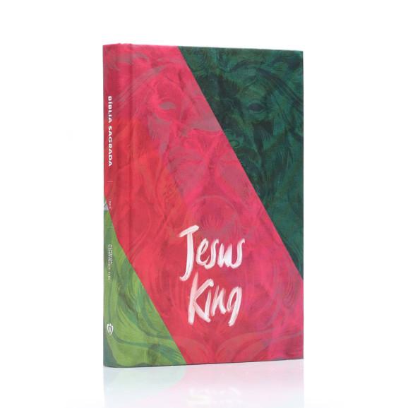 Bíblia Sagrada | ACF | Letra Média | Capa Dura | Jesus King
