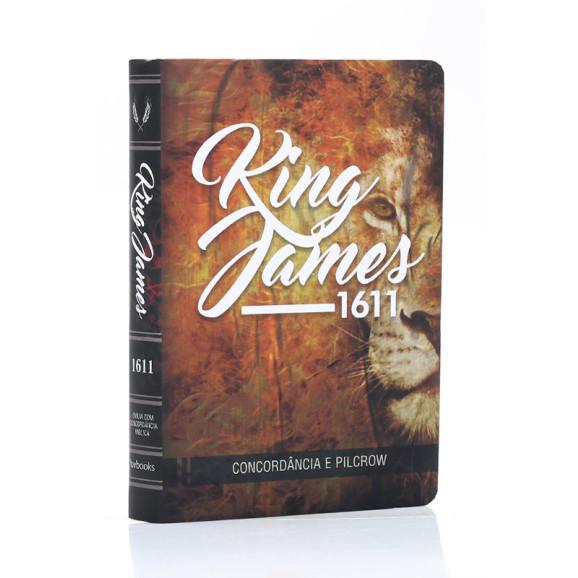 Bíblia Sagrada | King James 1611 | Letra Grande | Soft Touch | Leão
