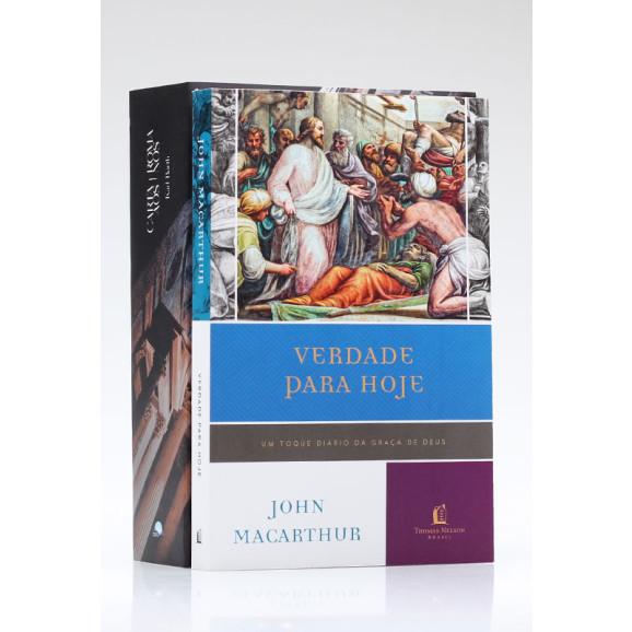 Kit 2 Livros   Carta aos Romanos + Devocional Verdade Para Hoje