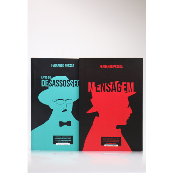 Kit 2 Livros | Fernando Pessoa | Para Vestibular