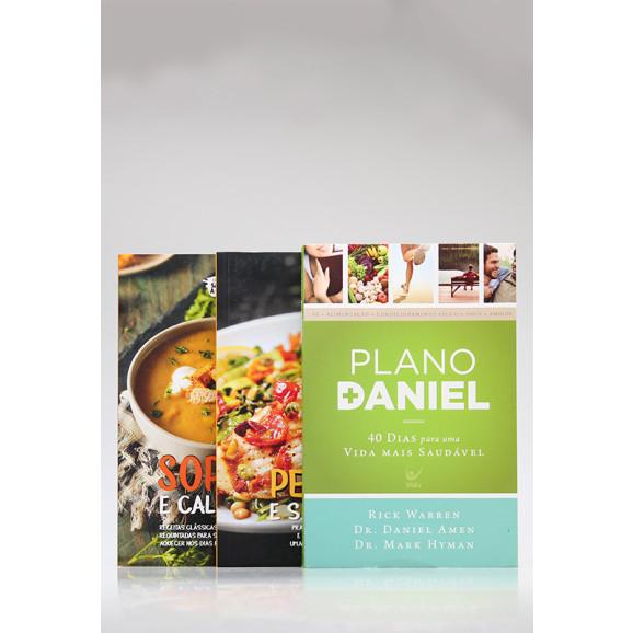Kit 3 Livros | Coleção Sabor à Mesa + Plano Daniel