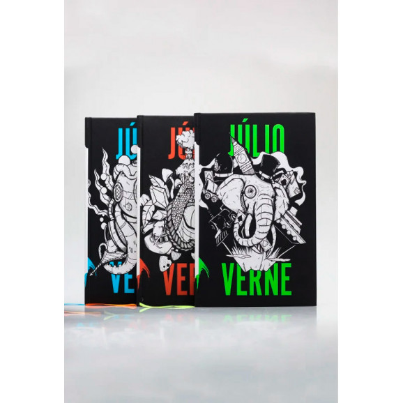 Kit 3 Livros | Capa Dura | Júlio Verne