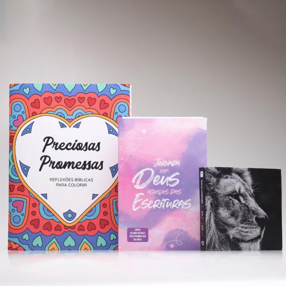 Kit Para Evangelismo   Promessas Sagradas   Aquarela